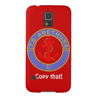 Badge of TS Arethusa Galaxy S5 Case