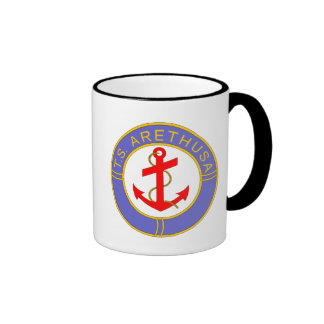 Badge of TS Arethusa Ringer Coffee Mug