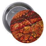 Badge Organic painting Pin