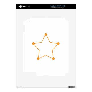 Badge Outline iPad 2 Skins