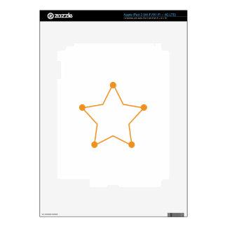 Badge Outline iPad 3 Decals