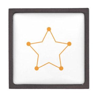 Badge Outline Jewelry Box