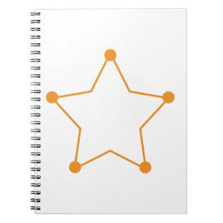 Badge Outline Notebook