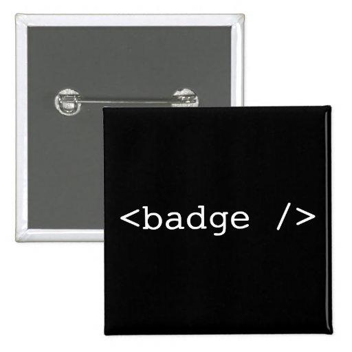 <badge /> pin