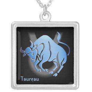 badge signe du zodiac Taureau Custom Jewelry