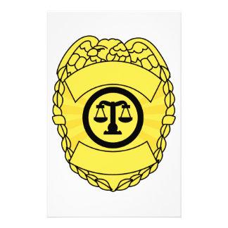 Badge Stationery