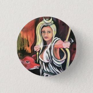 Badge: the Hunteress. Button