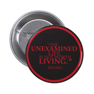 Badge with a meaningful quote 2 inch round button