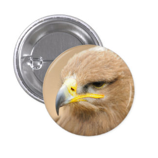 Badge with Golden Eagle Button