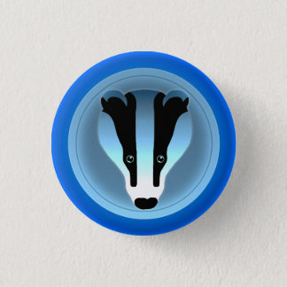 Badger Badge Pinback Button