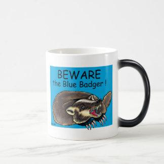Badger_BLUE Magic Mug