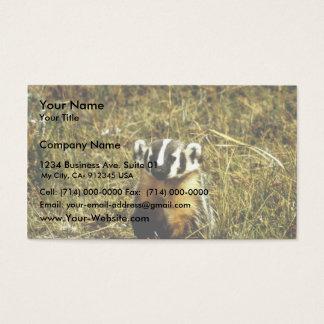 Badger Business Card