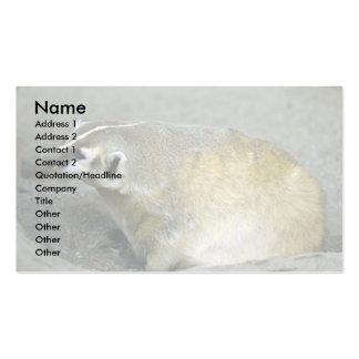 Badger Business Card Template