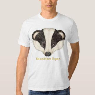 Badger Demolitions Expert T-shirt