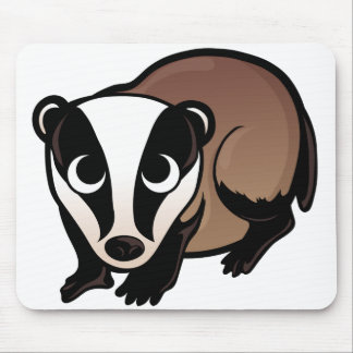 Badger Design Mouse Pad