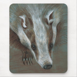 badger face mouse pads