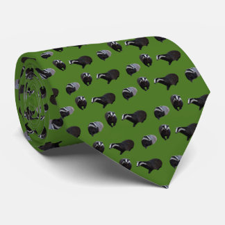 Badger Frenzy Tie Double Sided Print (Mid Green)