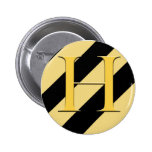 Badger House Badge 2 Inch Round Button