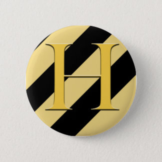 Badger House Badge Pinback Button