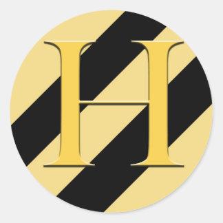Badger House Sticker