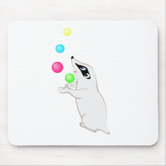 Badger Juggling Mouse Pad