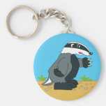 Badger Key Chains