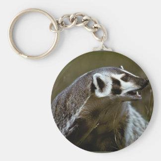 Badger Keychain