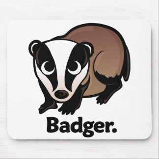 Badger. Mouse Pad
