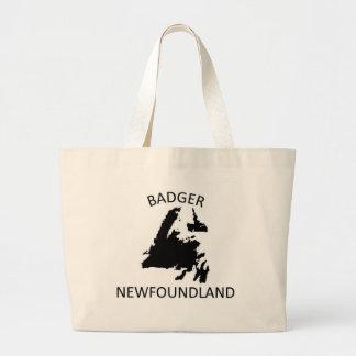 Badger newfoundland jumbo tote bag
