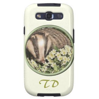 Badger on the Primrose Bank Samsung Galaxy SIII Case