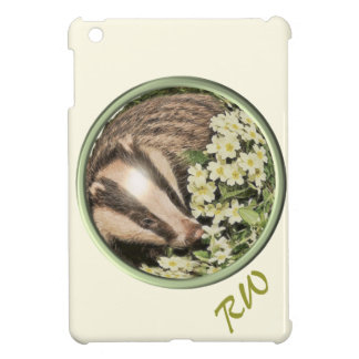 Badger on the Primrose Bank iPad Mini Covers