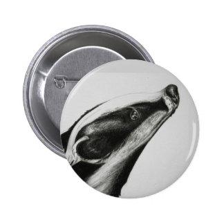 Badger Pinback Button
