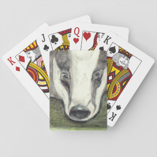 Badger playing cards (JZH2)
