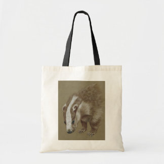 badger side Tote bag