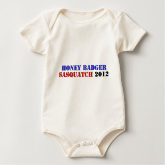 BADGER/SQUATCH TICKET BABY BODYSUIT