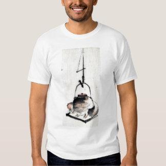 Badger tea kettle Ukiyoe T Shirt