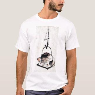 Badger tea kettle Ukiyoe T-Shirt