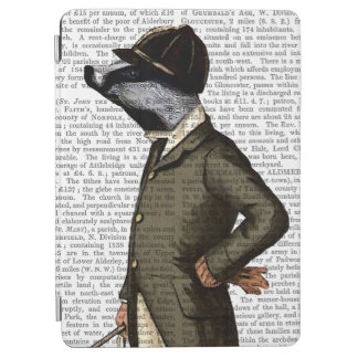 Badger The Rider Portrait iPad Air Cover