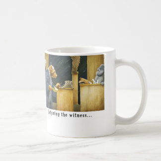 Badgering the witness coffee mugs