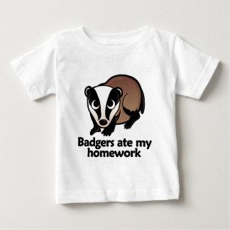 Badgers ate my homework baby T-Shirt