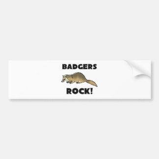 Badgers Rock Bumper Sticker