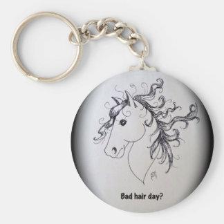 badhairday key chain
