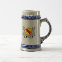 Coat of arms of Baden of Baden seize mi writing ba Beer Stein