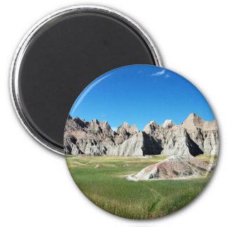 Badlands 2 Inch Round Magnet