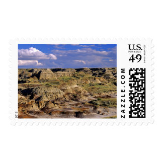 Badlands at Dinosaur Provincial Park in Alberta, 2 Stamp