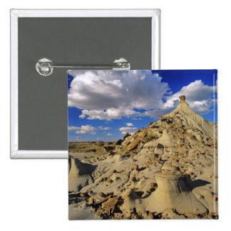 Badlands at Dinosaur Provincial Park in Alberta, 3 Pinback Button
