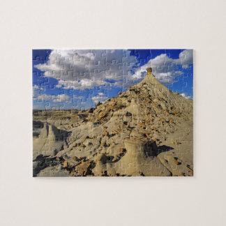 Badlands at Dinosaur Provincial Park in Alberta, 3 Jigsaw Puzzle