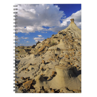 Badlands at Dinosaur Provincial Park in Alberta, 3 Notebook