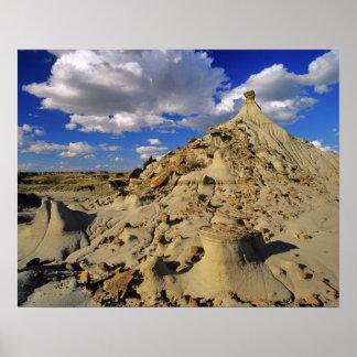Badlands at Dinosaur Provincial Park in Alberta 3 Print