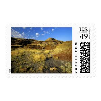 Badlands at Dinosaur Provincial Park in Alberta, Stamp
